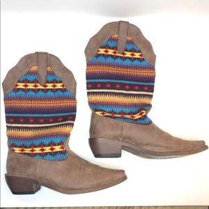 NEW Roper Aztec Printed Cowboy Boots